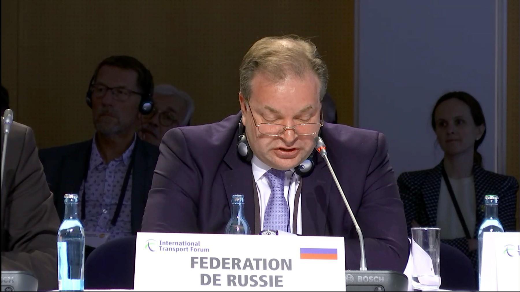 Алексей Семёнов - министр транспорта РФ