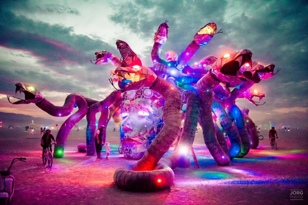 Как добраться до фестиваля «Burning Man