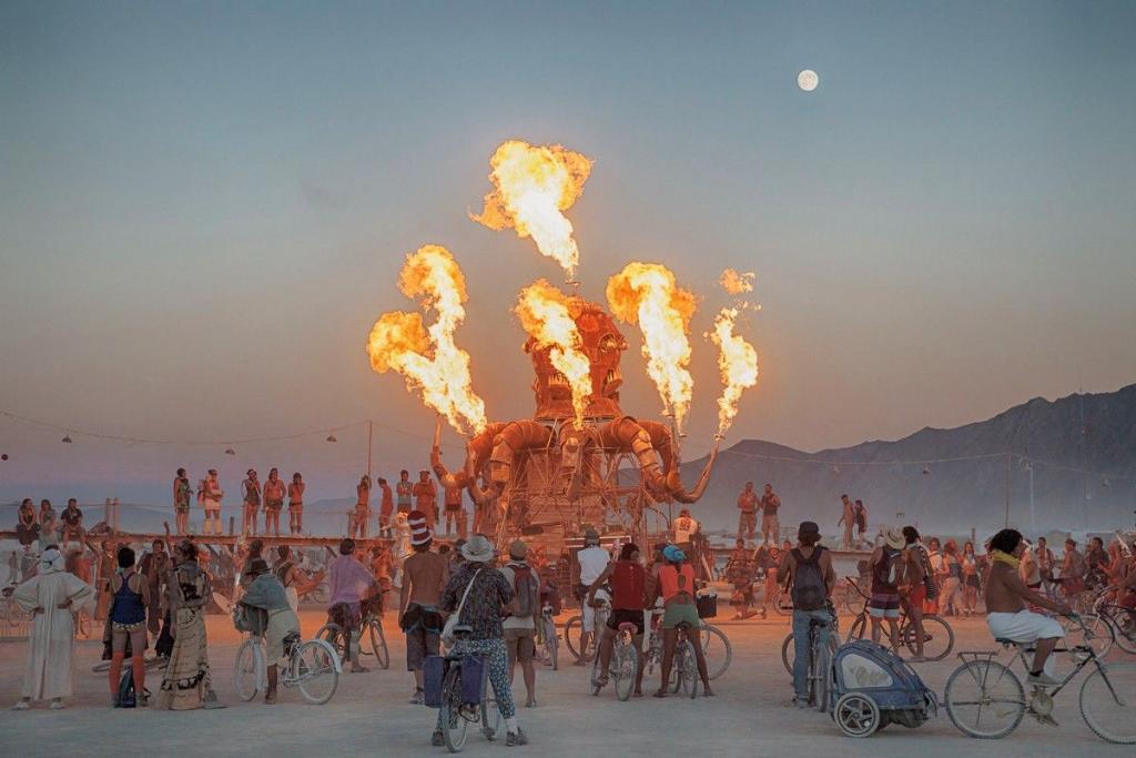 Как добраться до фестиваля «Burning Man 2
